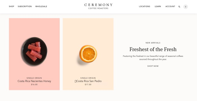 minimalist web designs