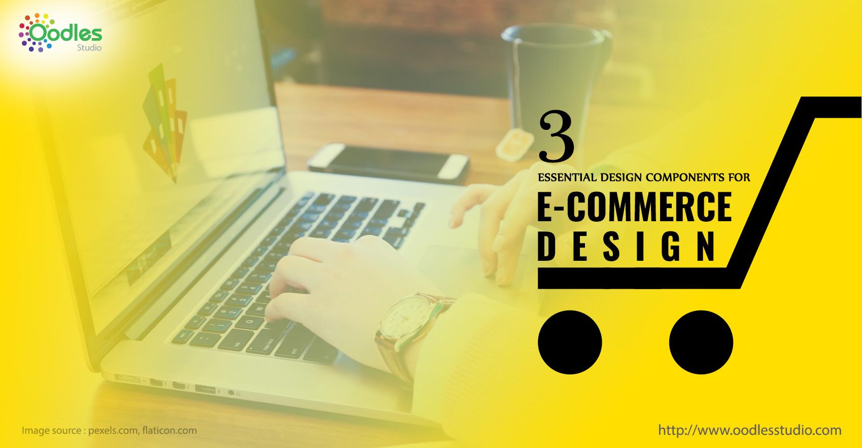 basic design components of an e-commerce website