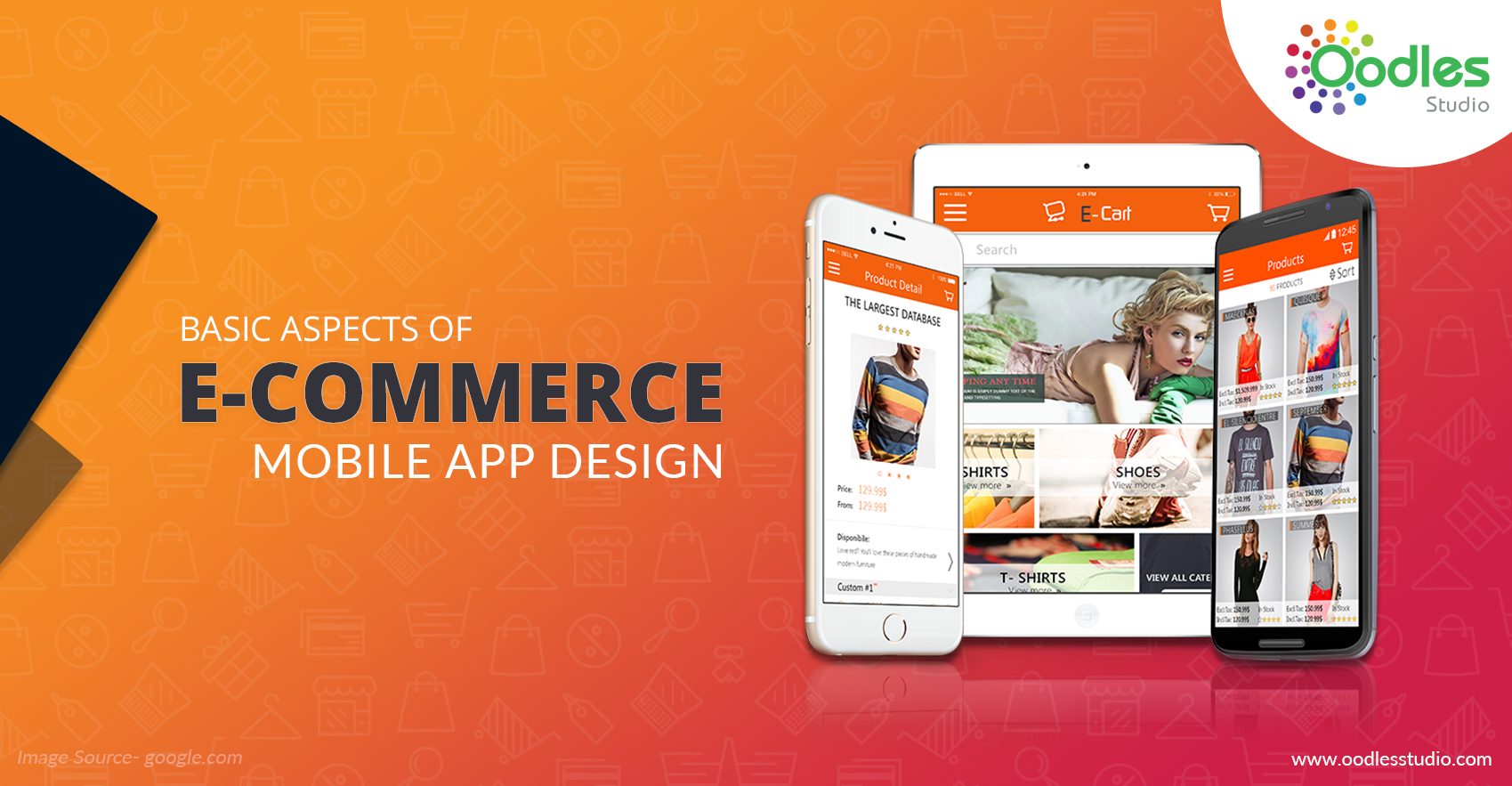 Basic aspects of e commerce mobile app design oodles studio for E commerce mobili