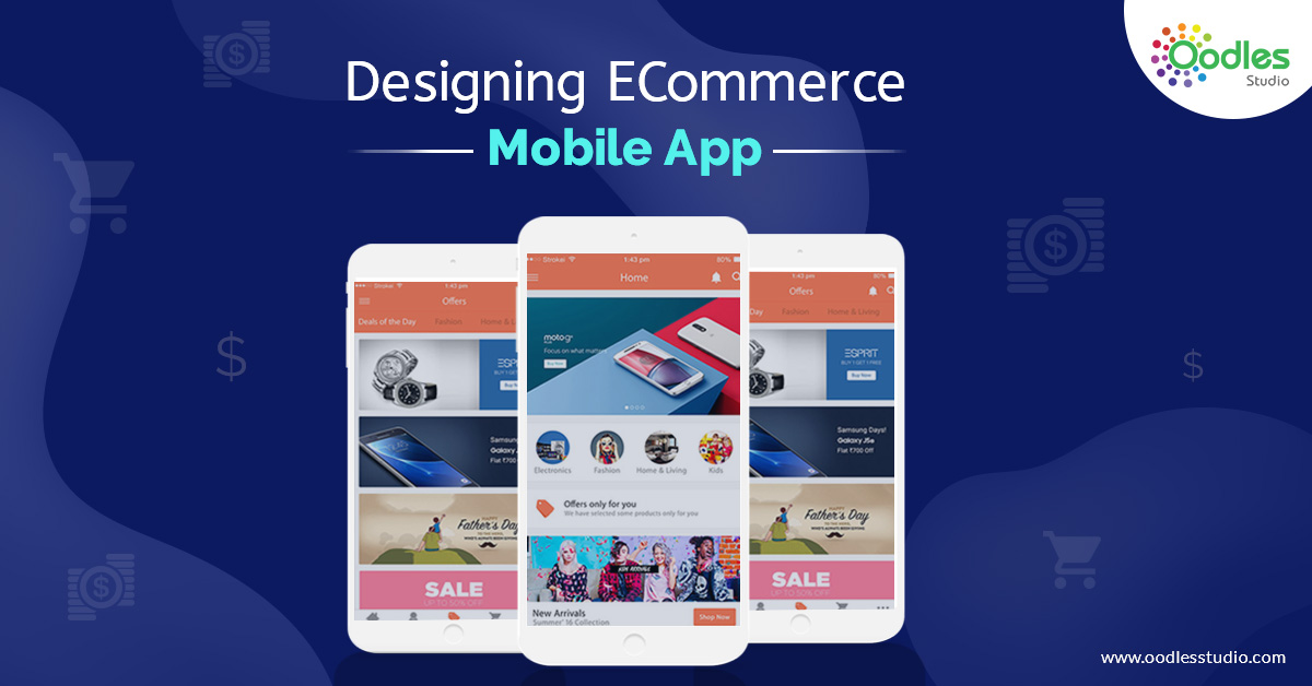 Designing ECommerce Mobile App