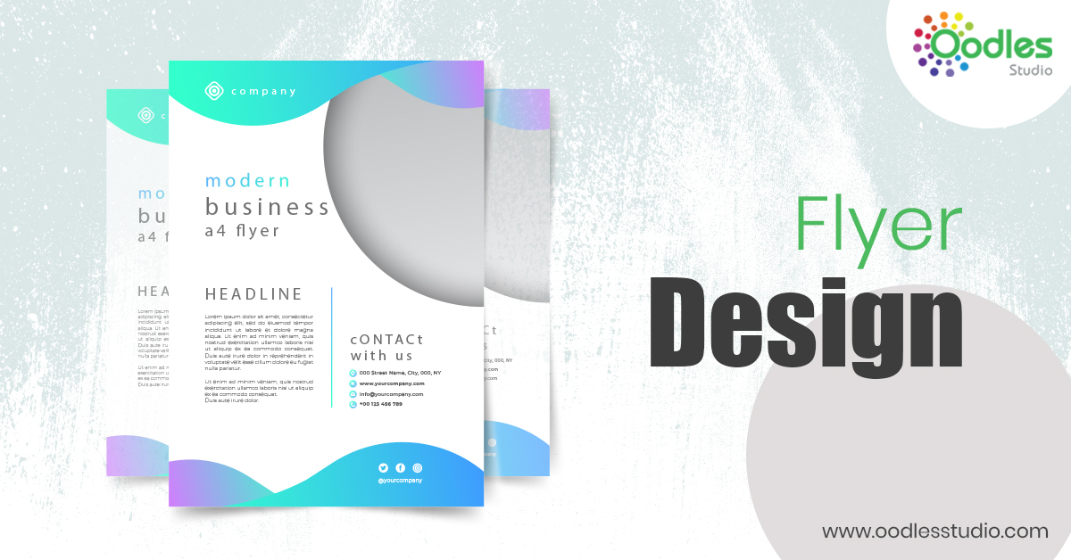 Emerging Ideas To Create Flyer Design - Part 2 | Oodles Studio