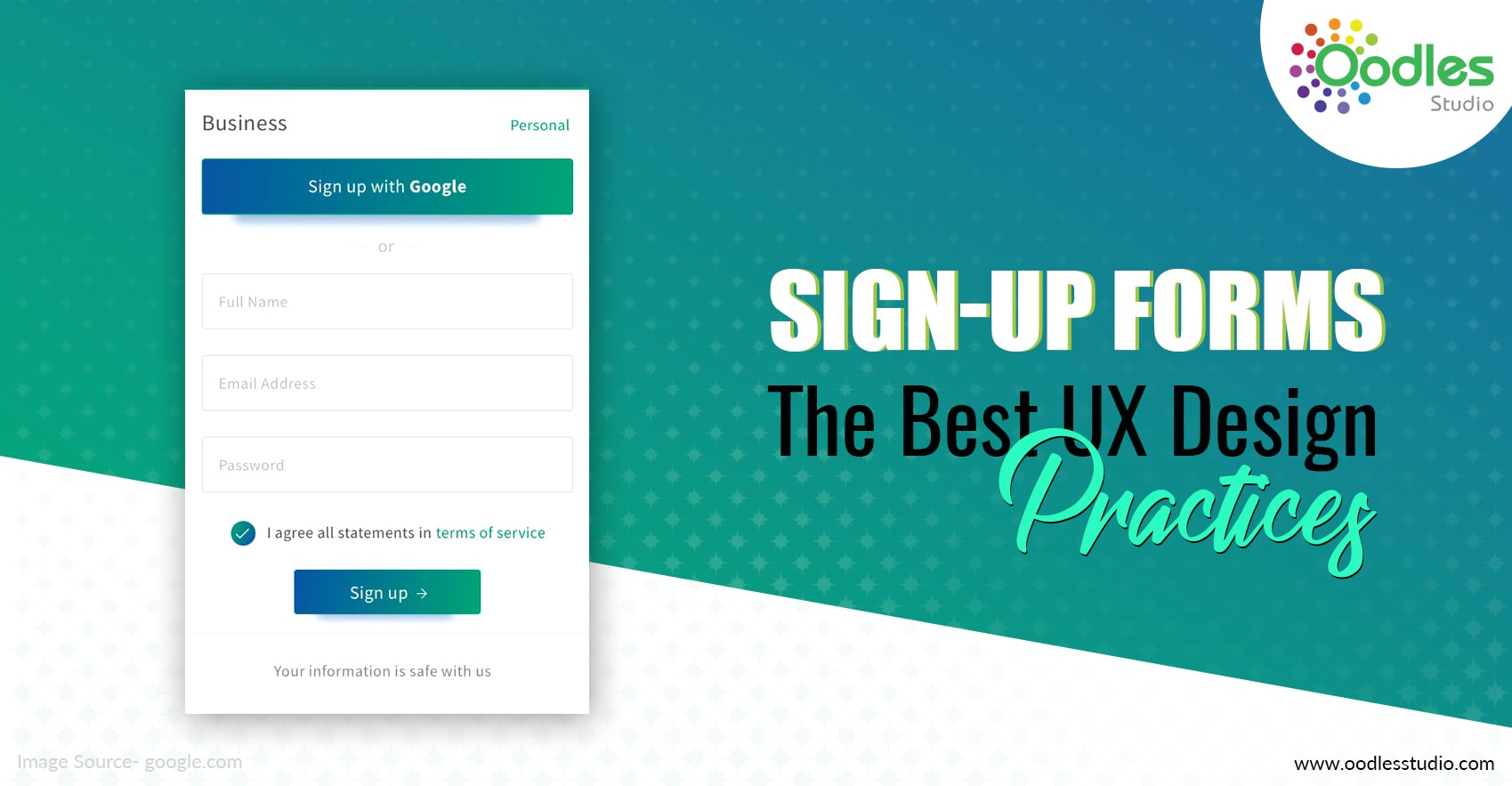 Sign-up Forms The Best UX Design Practices-min