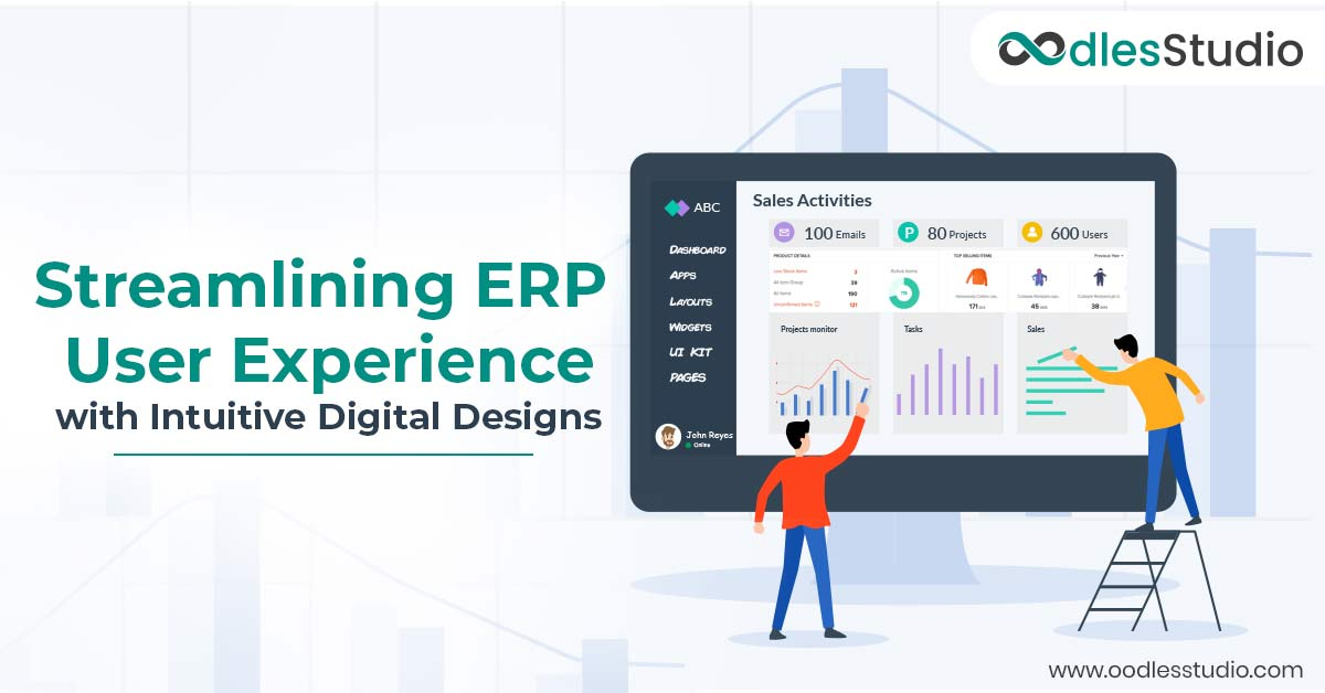 ERP system ui ux design services